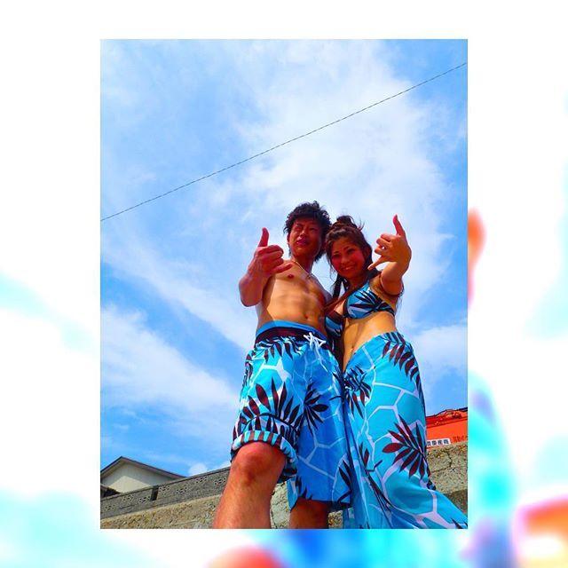 【naachamu】さんのInstagramをピンしています。 《2016夏わBlue🍍💓 けんちゃむなあちゃむ今年初海ーーーー😊☀ はっぴー!!!! 1週間いなくてやっと帰ってきてまた1週間いなくなる😑 ほぼ一人暮らし💓 めい子いるからいっかー💓 冬も好きだけどやっぱ夏も好き❤☀ #海#ビーチ#ペア水着#ペアルック#楽しい#ビール#飲めない#OLYMPUS#防水カメラ#乳首みっつ#守谷海岸#夏#太陽#大好き》