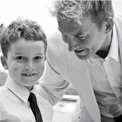 Brett Lee - such a lovely photo!