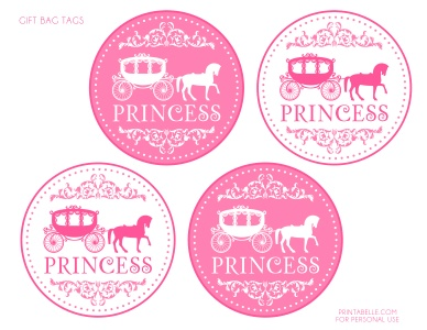 The 35 best images about labels on pinterest pink princess printable gift bag tags pinkprincess negle Image collections