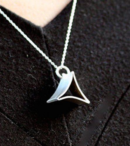 Silver Nekclace Geometric, Triangle Necklace, Handmade Ne... https://www.amazon.com/dp/B01ITFOZQC/ref=cm_sw_r_pi_dp_ijoKxbACPBXPJ