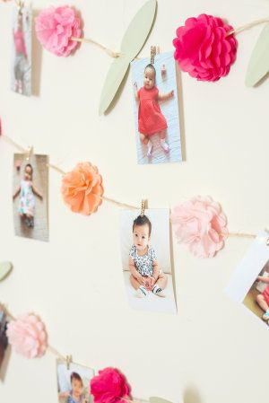 Ok, let me just say that this DIY floral wall backdrop this gorgeous momma…