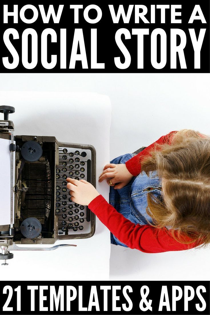 Social Stories for Kids with Autism | Looking for resources to help you teach life skills like behavior management, potty training, respecting personal space, and how to form friendships to kids with ASD, anxiety, and ADHD? We've got 21 social story templates and apps (and free printables!) as well as tips to teach you how to write a social story. #autism #socialstory #socialstories #anxiety #ADHD #specialneeds #specialneedsparenting