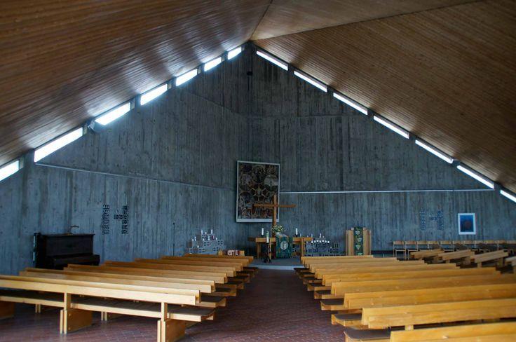 Architektur und Kunst : Evangelische Sommerrainkirche Stuttgart