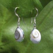 Tortue de mer, la marque #équitable ! Boucles d'oreilles oeil de Ste Lucie
