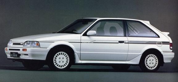 1987 Mazda 323 GTX