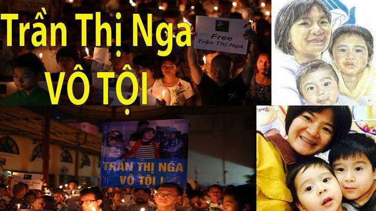 Hàng ngàn người Đòi Công Lý cho Trần Thị Nga trước Phiên Tòa Ma Quỷ của Cộng sản Hà Nội - YouTube