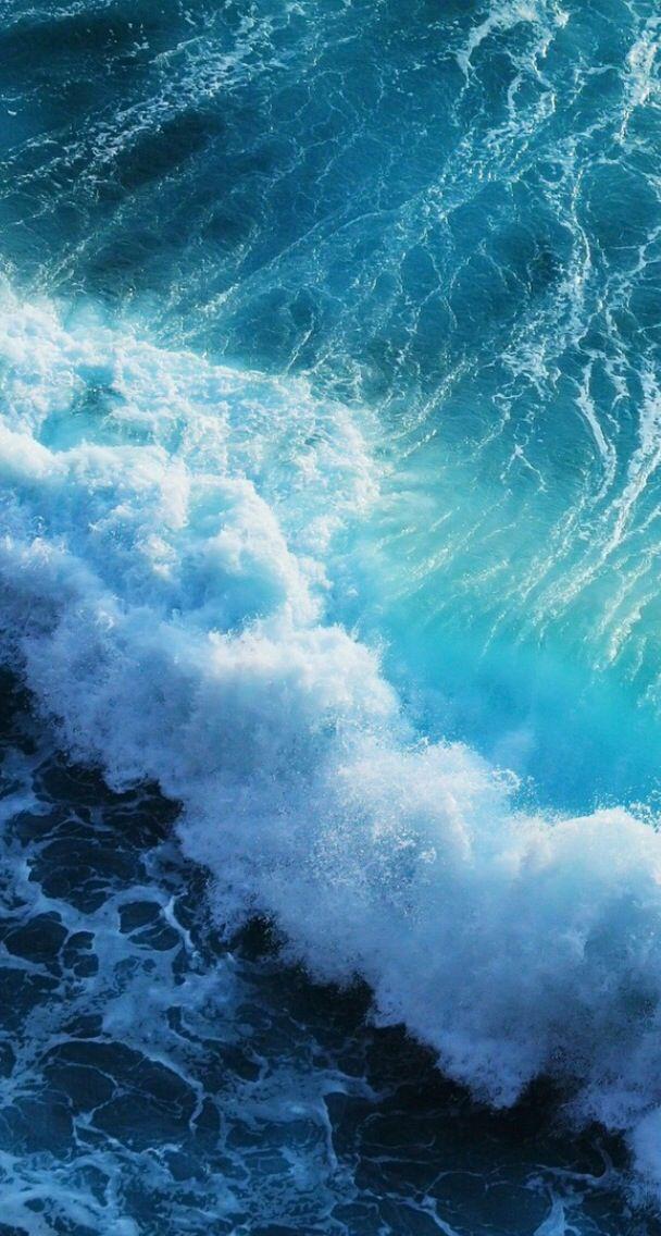 pin sea waves wallpaper - photo #10