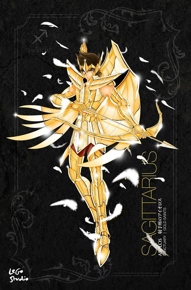 Saint Seiya Sagittarius Aiolos
