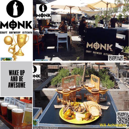 The Monk Brewery Kitchen - Fremantle caf'e strip