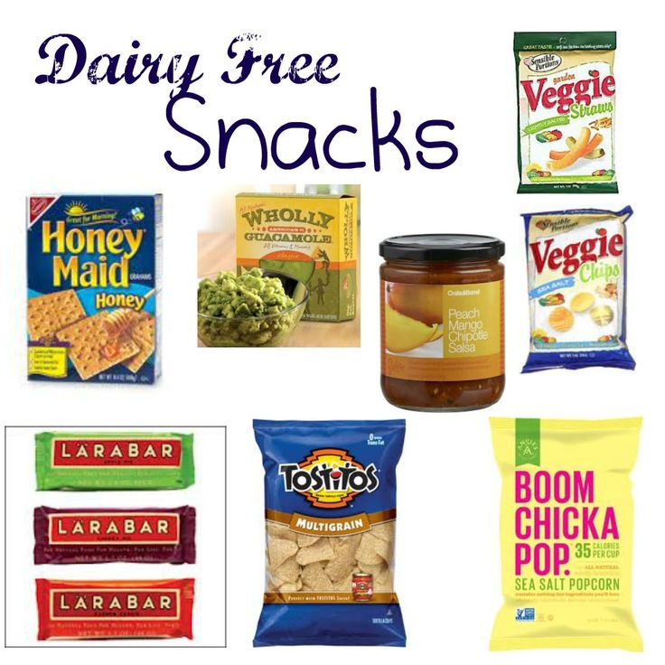Dairy Free Snacks - Leah With Love