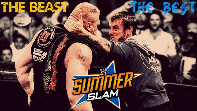 SummerSlam 2013 Preview: The Best vs. The Beast—CM Punk vs. Brock ...