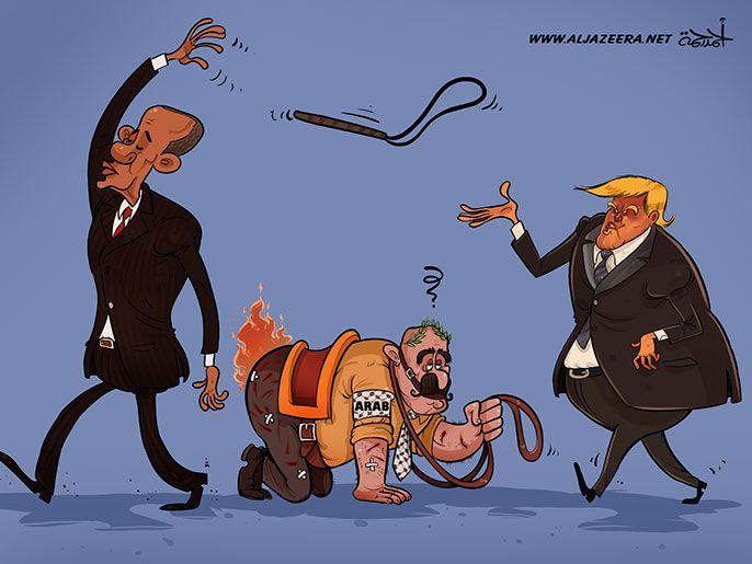 كاريكاتير: ترامب