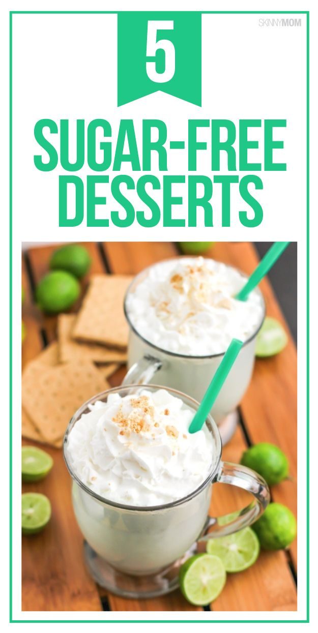 These skinny dessert recipes are simple and AMAZING