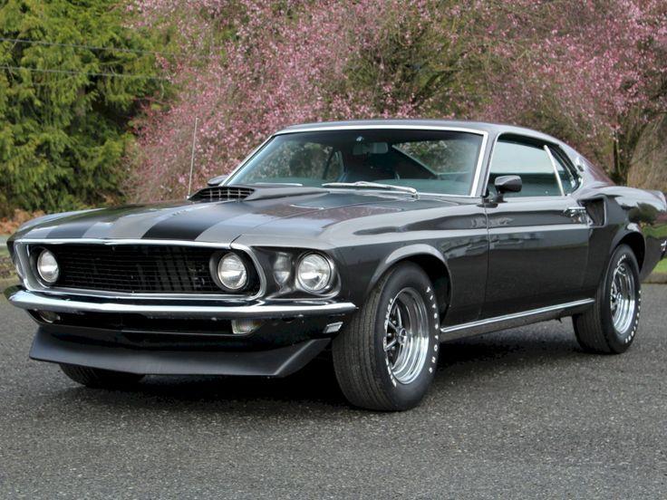 1969 John Wick Mustang Factory 1969 Mach 1 Big Block S Code