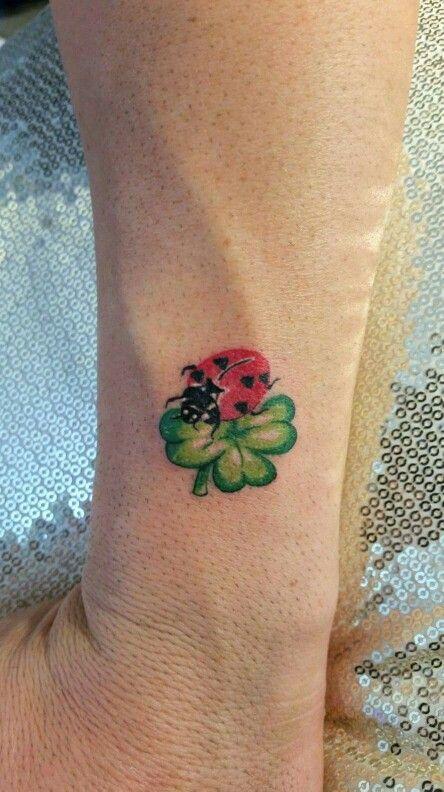 Lady bug tattoo