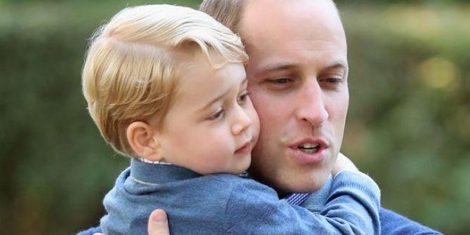 Τι κι' αν είναι πριγκιπικός γόνος, παραμένει παιδί ο σκανδαλιάρης γιος του Ουίλιαμ. Τι έκανε ο μπόμπιρας;