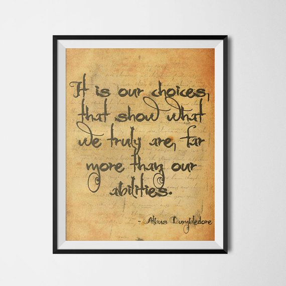 7 best Harry Potter Quotes images on Pinterest | Room wall decor ...