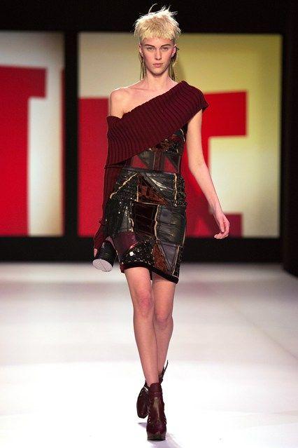 Jean Paul Gaultier - www.vogue.co.uk/fashion/autumn-winter-2013/ready-to-wear/jean-paul-gaultier/full-length-photos/gallery/948191