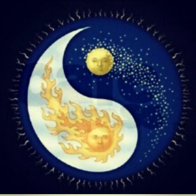 The Moon rises as the sun races home  to slumber, So it may look up and see  the Beautiful too.. <3