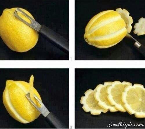 Great idea to garnish drinks