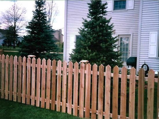 22 best front yard images on pinterest backyard ideas for Colonial fence designs