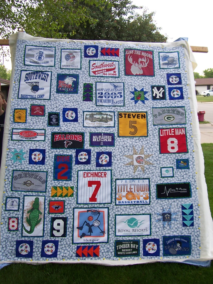 38 best images about t-shirt quilt and graduation gift ideas on Pinterest High school ...