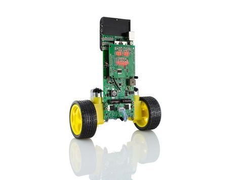 A low-cost, open-source, #Arduino compatible balancing robot for learning, hacking and delight