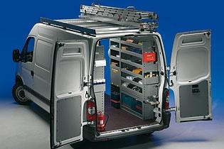 Modello di Officina Mobile Store Van per Renault Master