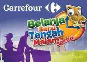update Carrefour Gelar Midnight Sale