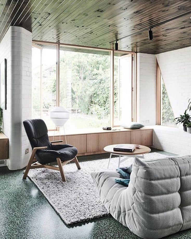 Our Mayu floor lamp in this recent project by Taylor Knights Architects. Image: Tom Blachford  Styling: Ruth Welsby
