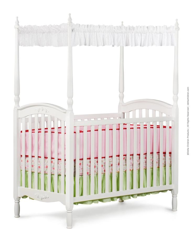 45 best images about canopy cribs cradles bassinets on for Baby girl canopy cribs
