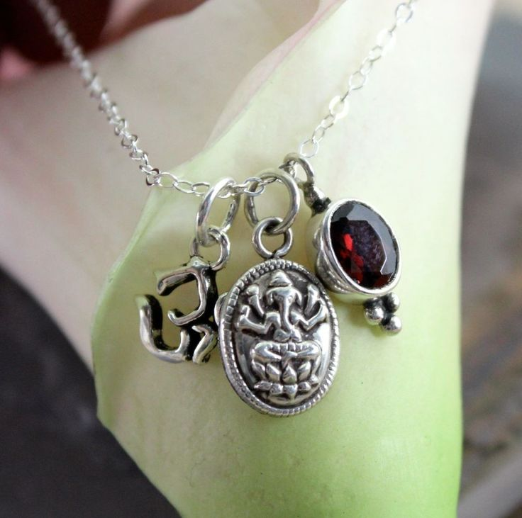 Dharmashop.com - Sterling Silver Om Ganesh Necklace, $59.00 (http://www.dharmashop.com/sterling-silver-om-ganesh-necklace/)