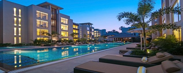 Book 5 star North 16 hotel at Calangute in North Goa on budget prices
