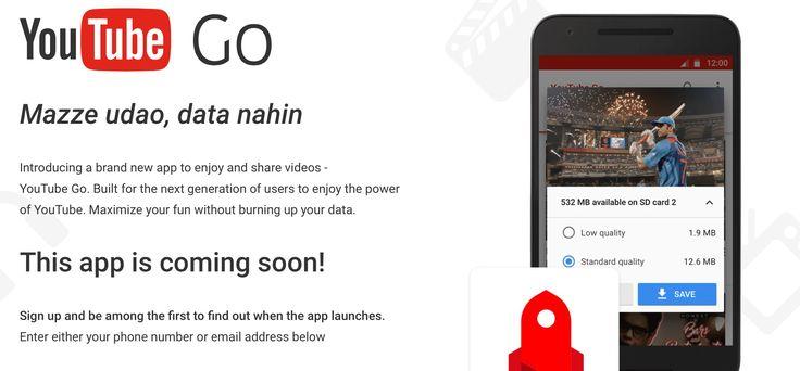 YouTube Go, la aplicación oficial de Google para descargar vídeos de YouTube - http://www.androidsis.com/youtube-go/