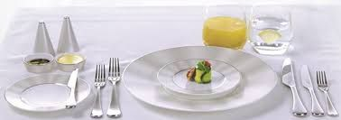 Image result for etihad business class tableware