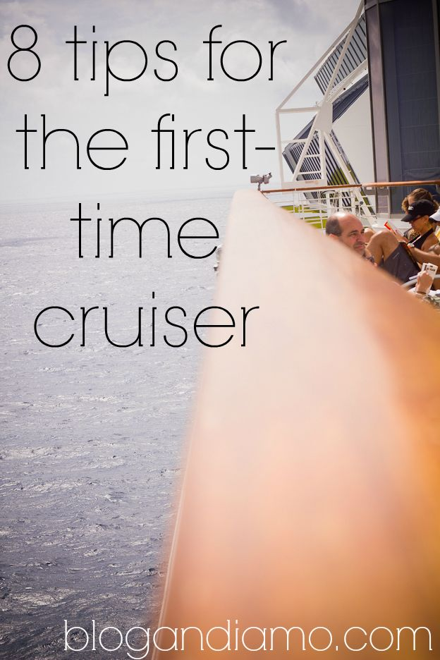 Eight Tips For The First Time Cruiser