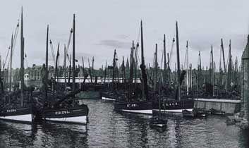 herring and white fishing fleet peterhead