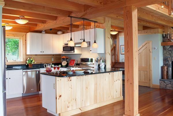 45 Best Log Beautiful Kitchens Images On Pinterest