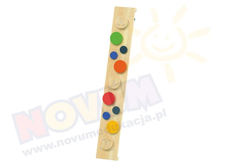 NOVUM - Platformy - ławeczka sensoryczna  #novum #novumedukacja #kids #forkids