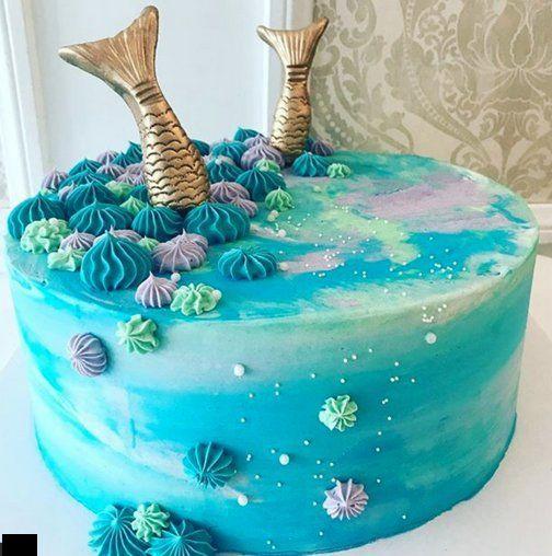 Vanille backen Geschäft – vorgefertigten Meerjungfrau-Kuchen   – Geek Cake