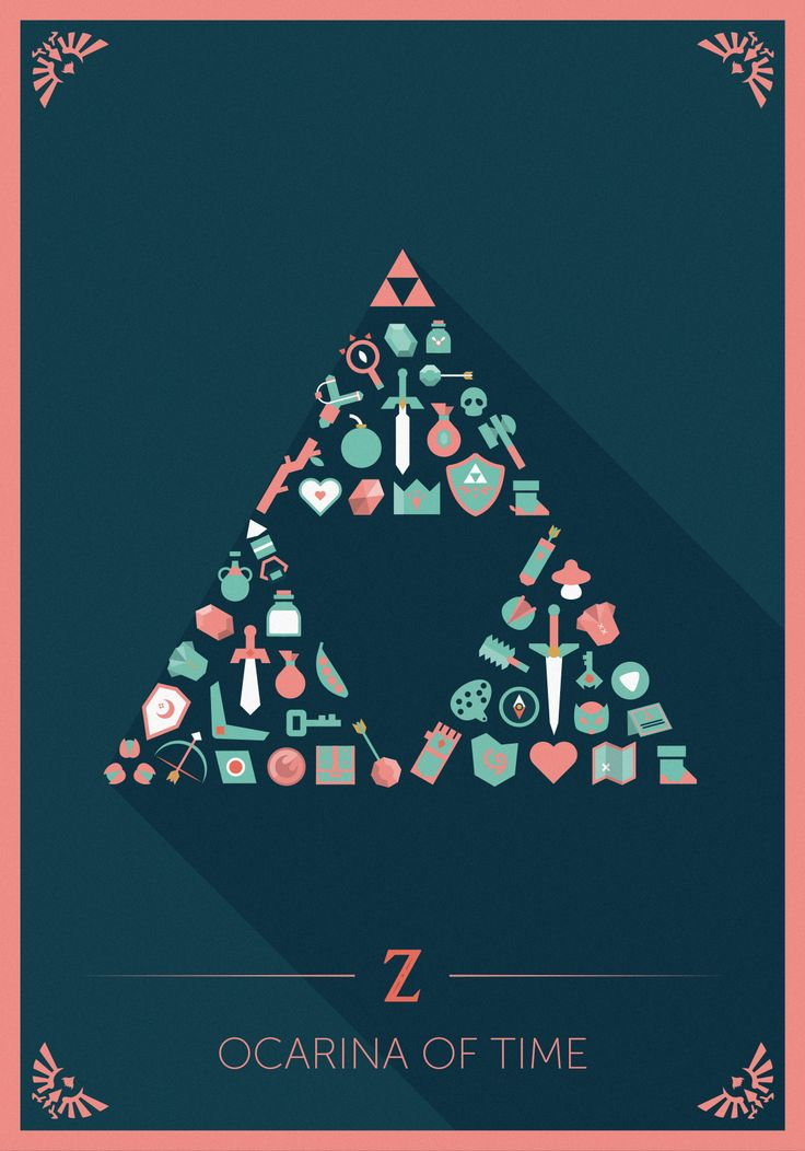The Legend of Zelda – Flat icons II | O.Magermans | Graphisme – Vidéo – Son