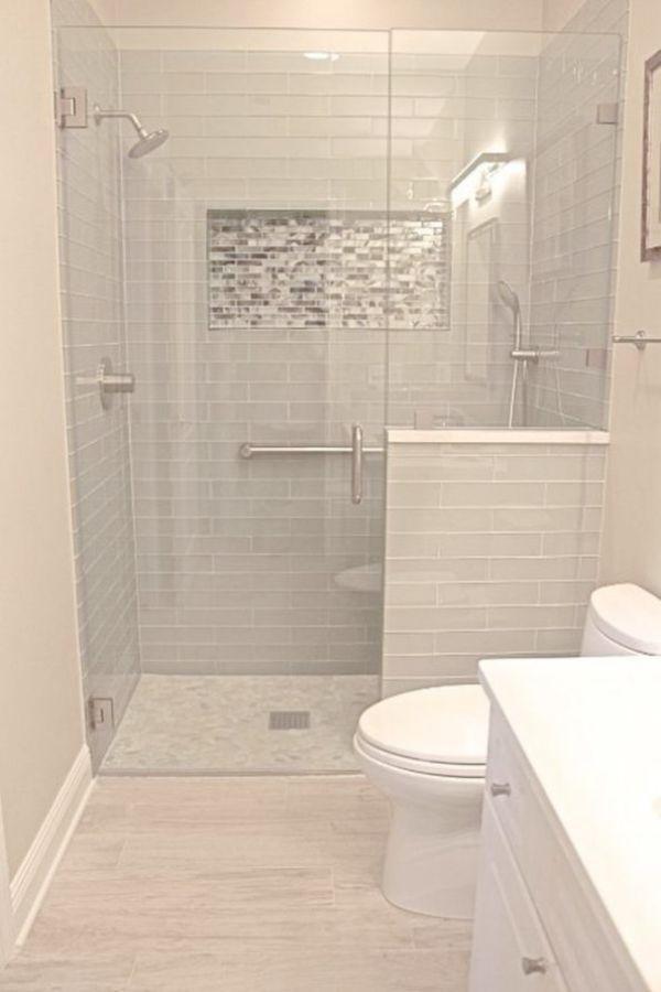 Bathroom Tile Adhesive Design Ideas To Make A Small Bathroom Look Bigger On Bat Master Bathroom Renovation Bathrooms Remodel Bathroom Renovation Diy