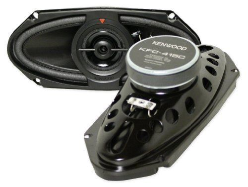 "Pair of New Kenwood Kfc-415c 4x10 320 Watts Combined (160 Each) Powerful Two-way Custom-fit Car Audio Speakers by Kenwood. $65.00. Pair of New Kenwood KFC-415C 4x10 320 watts combined (160 each) powerful two-way custom-fit car audio speakers Features:  Kenwood KFC-415C 320 watt 4x10"" 2-Way Speakers 4x10"" Performance Series Car Speakers Peak Power Handling: 320 watts per pair (160 watts each) RMS Power Handling: 160 watts per pair (80 watts each) Frequency Response: 63-24,..."