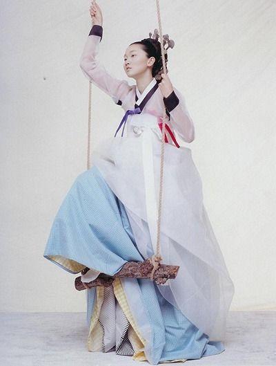 장윤주 한복 화보 / Hanbok (The traditional Korean dress)