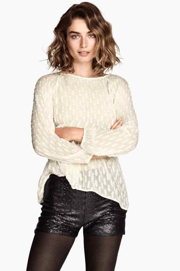 Short à paillettes | H&M                                                                                                                                                                                 Plus