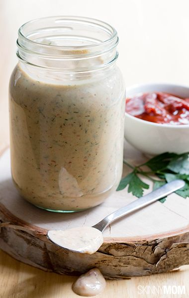 You have to try this low-cal chipotle ranch dressing! It's super delicious!