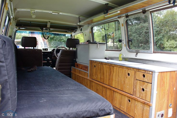 Troop carrier kitchen and lounge