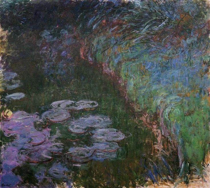 1000 id es sur le th me n nuphars de monet sur pinterest monet tableaux de - Acheter une peinture sur toile ...