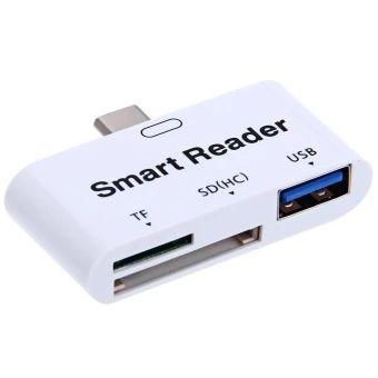 ขอแนะนำ  OTG Smart Type-C USB 3.1 Adapter TF / SD Card Reader - intl  ราคาเพียง  354 บาท  เท่านั้น คุณสมบัติ มีดังนี้ - Using the latest USB3.1 Type-C interface, super speedtransmission. - Support smartphones and tablets with OTG function. - Support forward and reverse swap with the consistentinterface. - Support SD / TF memory card and other kinds of memory carddirect reading, no card set is needed, highest transmission speedsis up to 10Gbps. - Ultra thin and portable, convenient to carry…