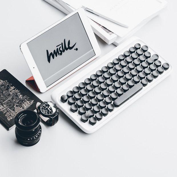 lofree|メカニカルキーボードにインスパイアされたワイヤレスキーボード「ローフリー」 - ガジェットの購入なら海外通販のRAKUNEW(ラクニュー)